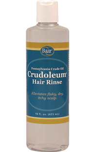 Crudoleum, Pennsylvania Crude Oil Hair Rinse